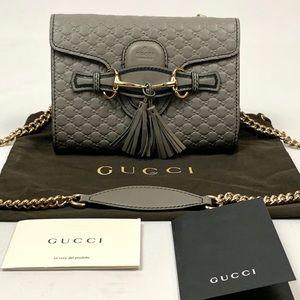 Authentic Gucci Micro Guccissima Emily Mini